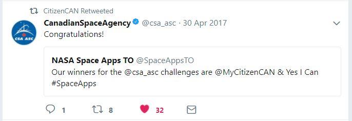 Tweet CSA