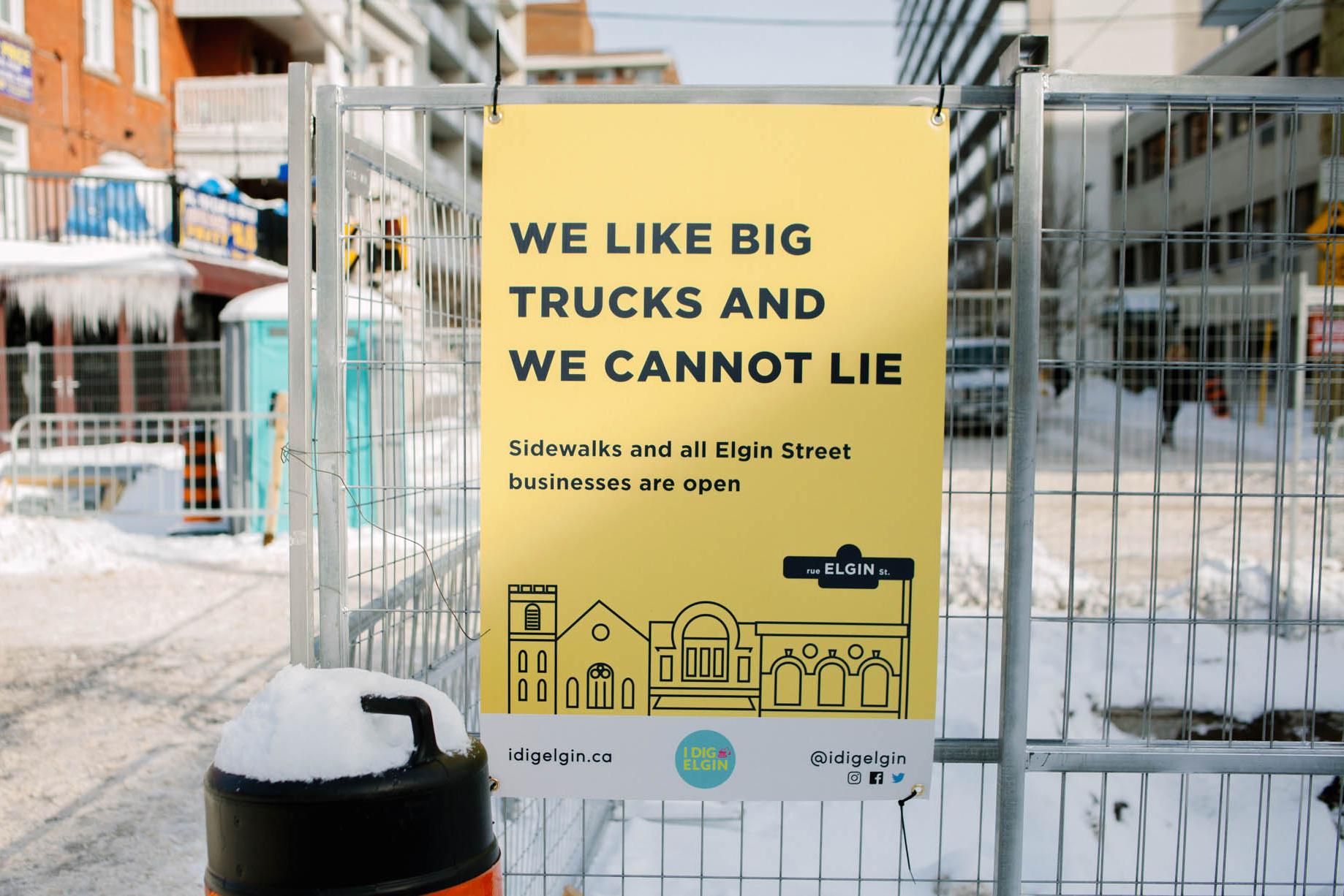 I Dig Elgin Poster Campaign
