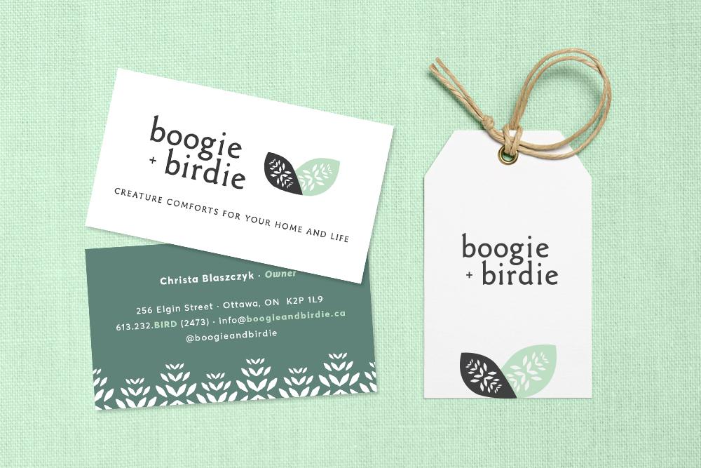 boogie + birdie Brand Identity