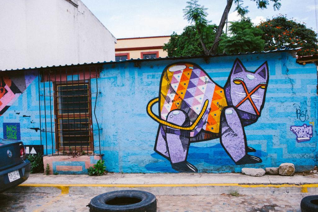 Mural Puebla Mexico